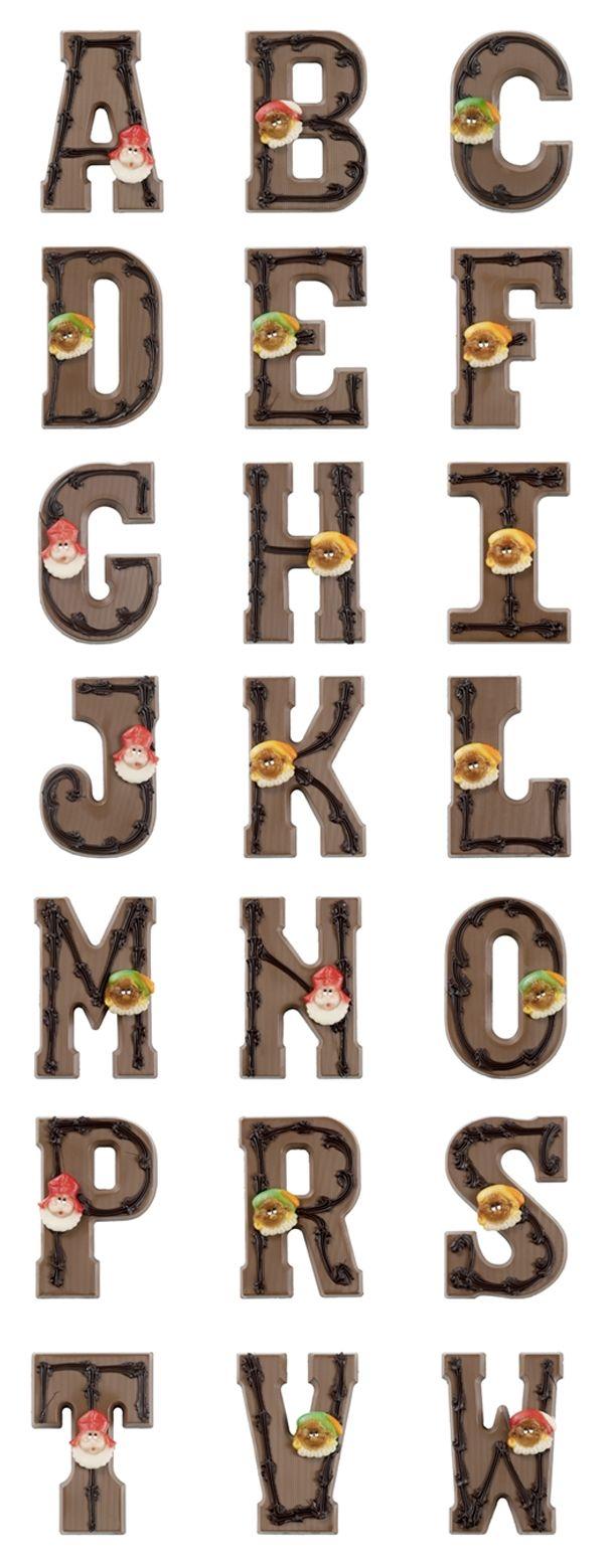 ABC Chocoladeletters