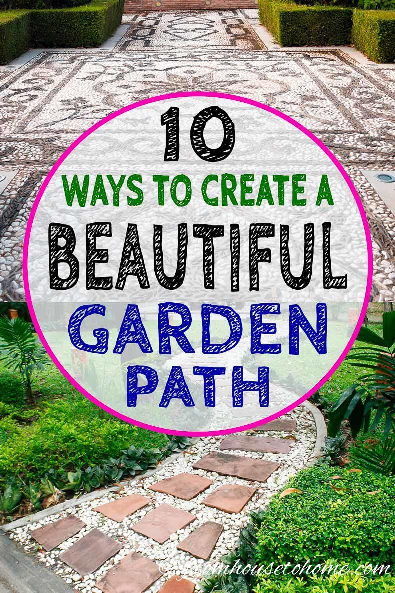 Garden Path Ideas 10 Ways To Create A Beautiful Walkway Garden