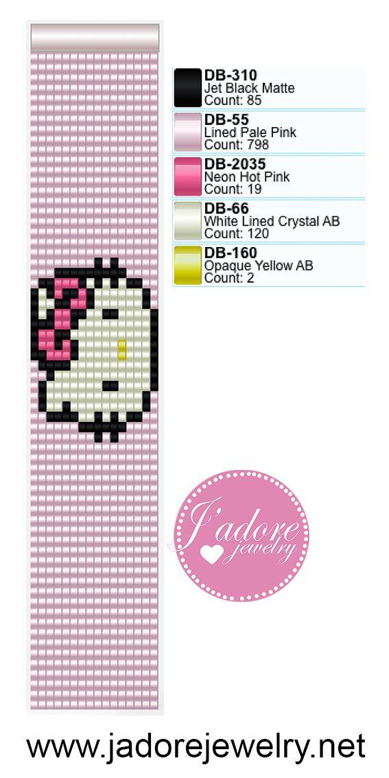 Miyuki delica weefarmband | Desenler ve Şemalar | Pinterest ...