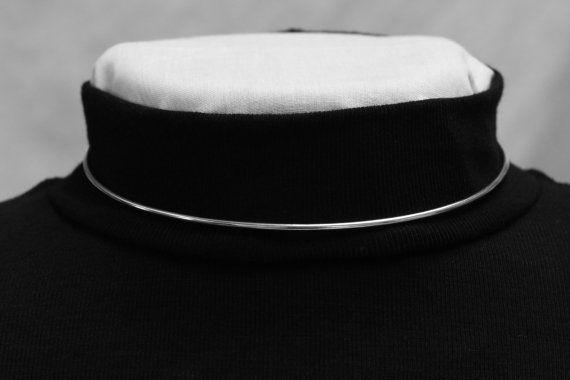 New Design  Discreet Contemporary Day Collar  Petite by ErosMoon