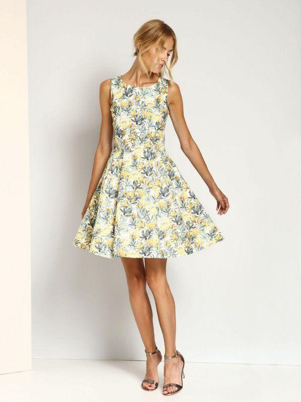 Sukienka Damska Kolorowa Ssu1660 Sukienka Top Secret Odziezowy Sklep Internetowy Top Secret Fashion Summer Dresses Dresses