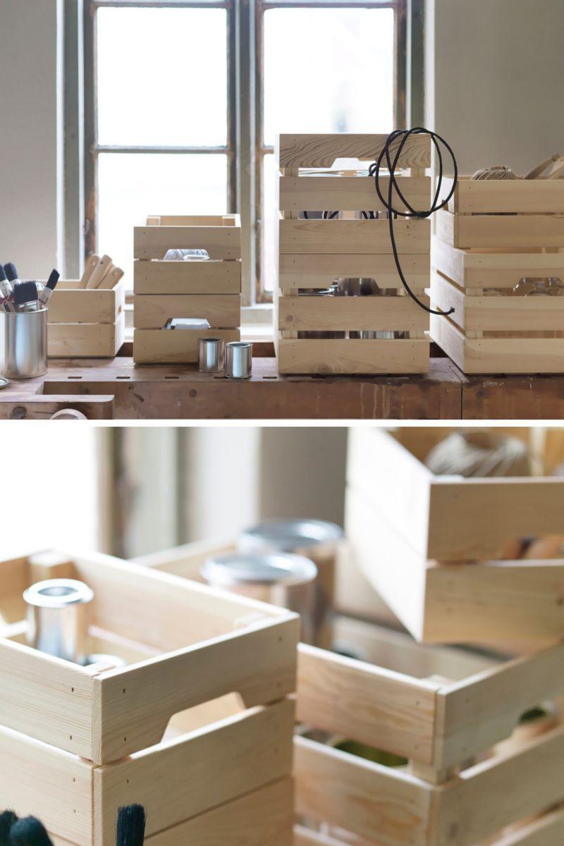 ikea knagglig kasten smart a pinterest ikea hack. Black Bedroom Furniture Sets. Home Design Ideas