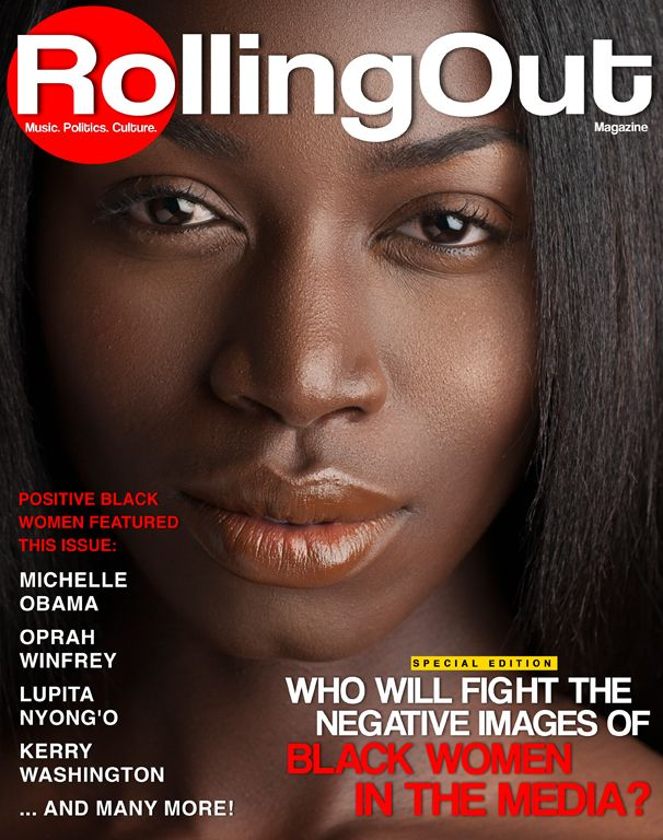 blackfashion:  Demi Grace GRACES the cover of Rolling Out Magazine's March 2014 Special Edition issue! http://rollingout.com/covers/will-fig...