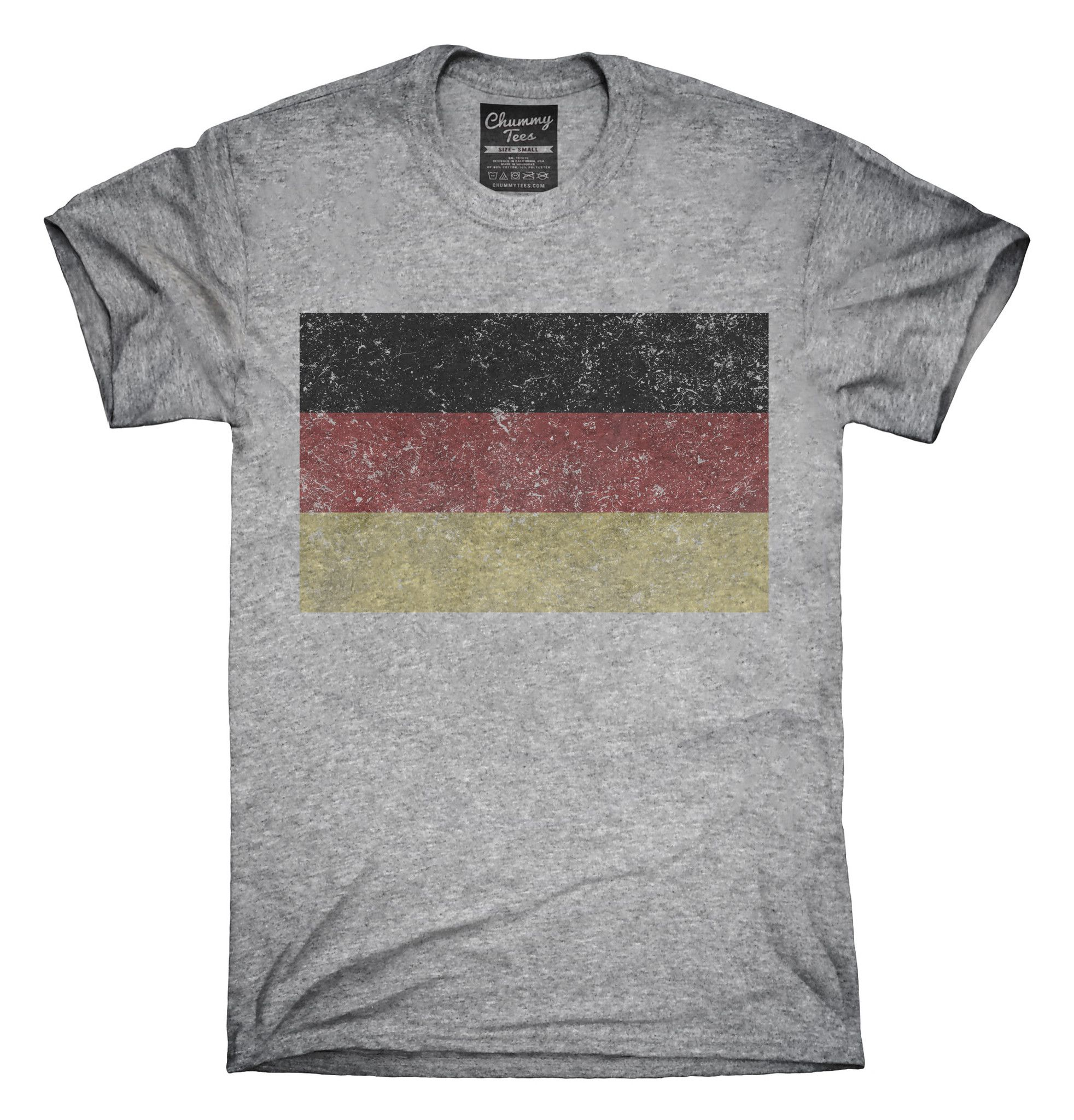 b750b0ef7a99f6 Retro Vintage Germany Flag T-Shirts