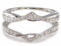 .27 ctw Diamond Ring Wrap Guard Insert