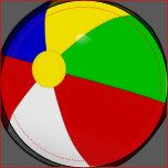 Beach Ball Stateroom Door Marker. A Fun door marker for your next Caribbean Cruise, or just to remind you of a fun summer day.