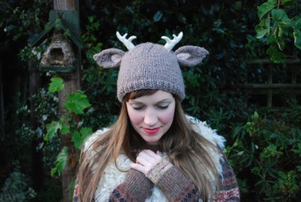 Deer Hat- I like this, not sure if I could rock it though