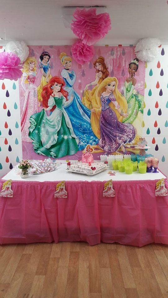Princesas disney princesas decoraci n - Decoracion fiesta princesas disney ...
