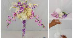 Ideas DIY para centros de mesa, ¡decora tu boda!