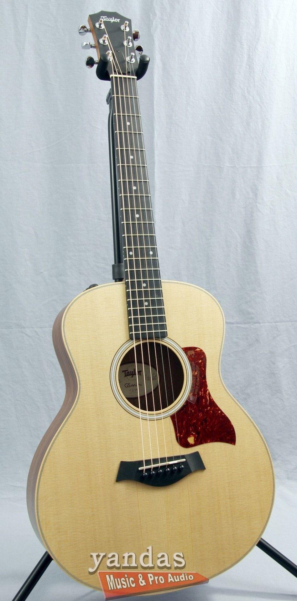 Taylor Gs Mini Rw E Acoustic Electric Guitar Guitar Acoustic Electric Guitar Small Guitar