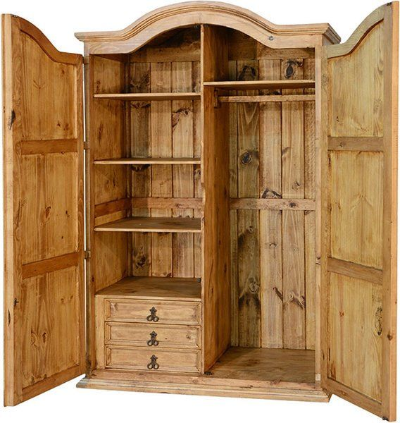 Corona Rustic Wardrobe Armoire R | HOME IMPROVEMENT...BEDROOMS ...