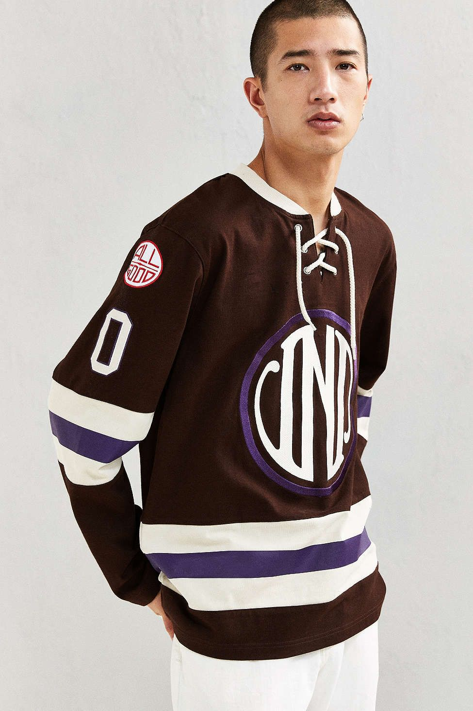 33def8b8c Undefeated Enforcer Hockey Jersey | Streetwear | Jersey fashion ...