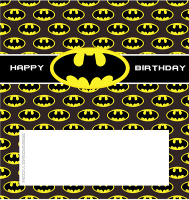 Free batman inspired candy wrapper craft for Wrap candy templates