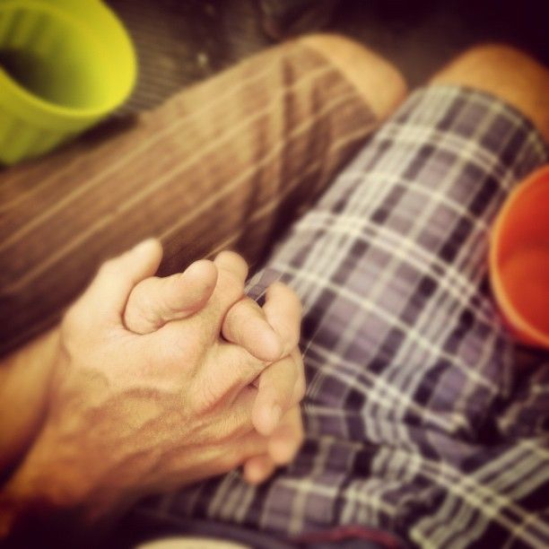 Gay hand hold