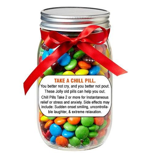 Chill Pill Jar Craftyness Christmas Gifts For Friends