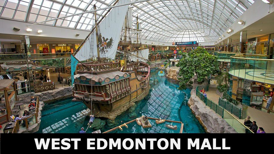One Of The Largest Malls In The World Equipped With An Indoor