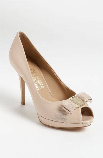 585a1696285f Salvatore Ferragamo  Talia  Pump available at  Nordstrom
