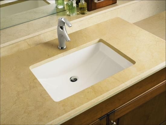 Kohler K 2215 Ny Dune Ladena 23 1 4 Undermount Bathroom Sink With Overflow Lavatory Sink Sink Rectangular Sink Bathroom