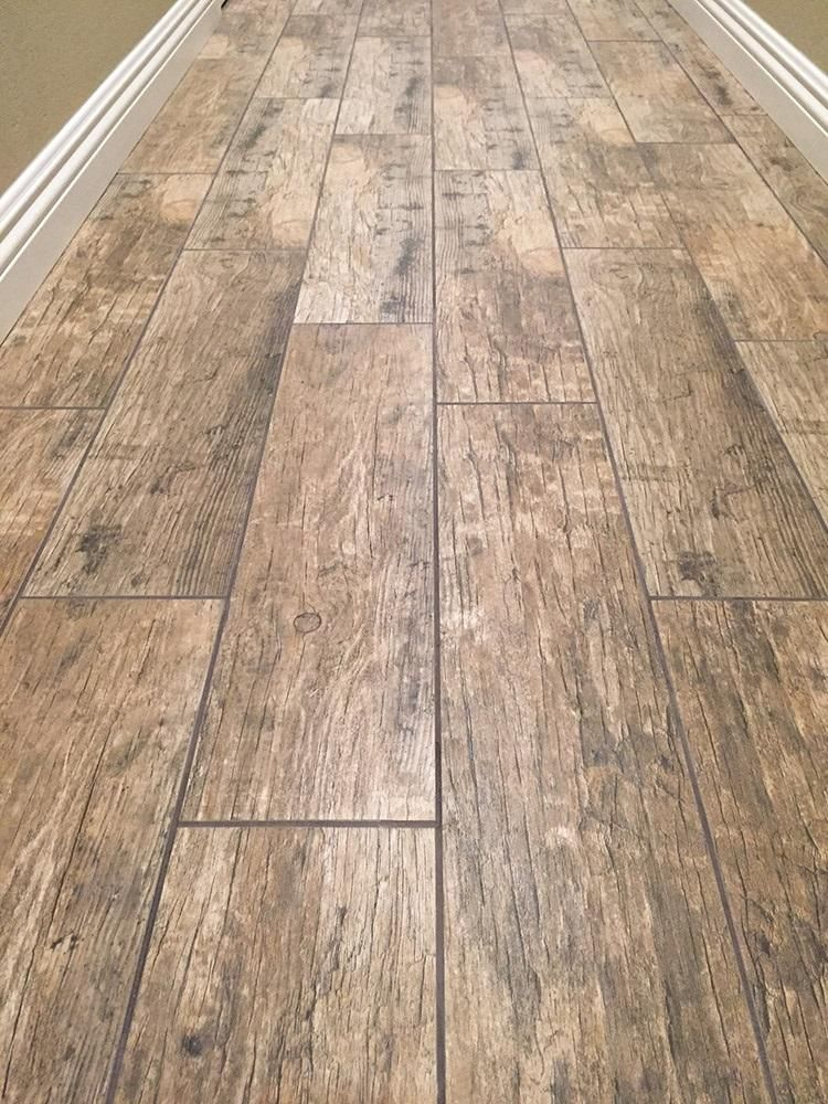 Cabot Porcelain Tile Redwood Series In 2019 Faux Wood