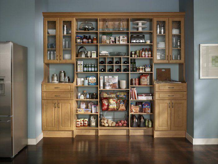 Küchenregale  küchenregale ordentlich einrichten | Eckregale | Pinterest ...