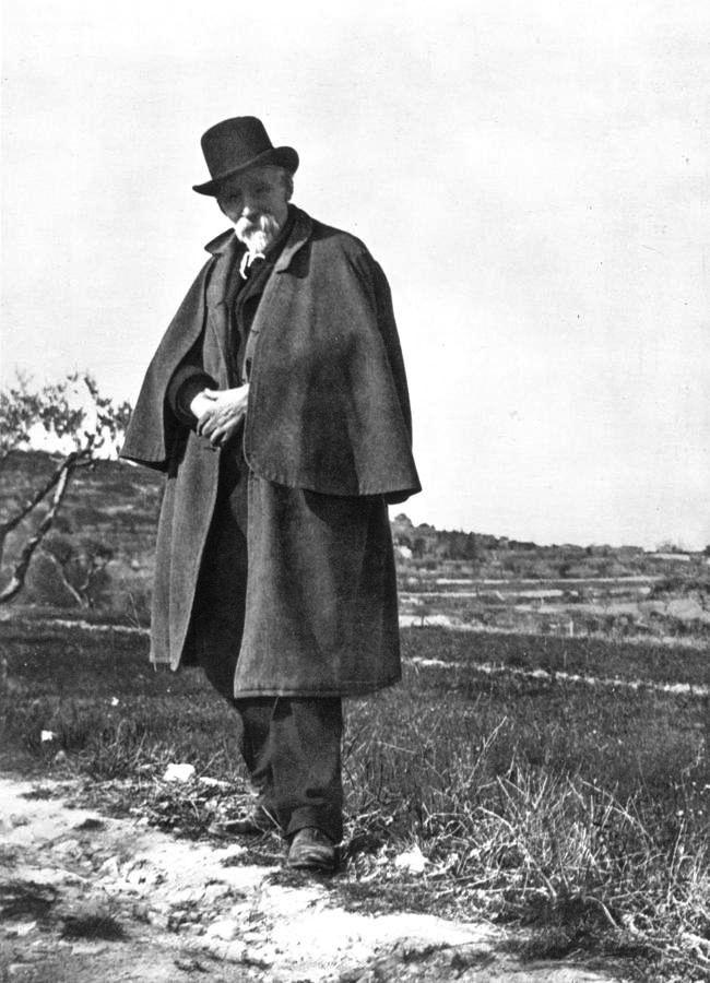 French Impressionist Paul Cezanne