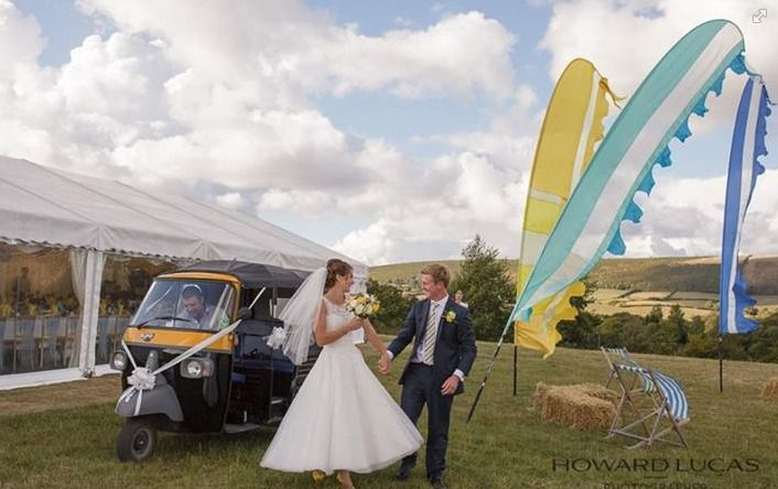 Tuc-tuc arrival anyone?  Image courtesy of Howard Lucas Photography