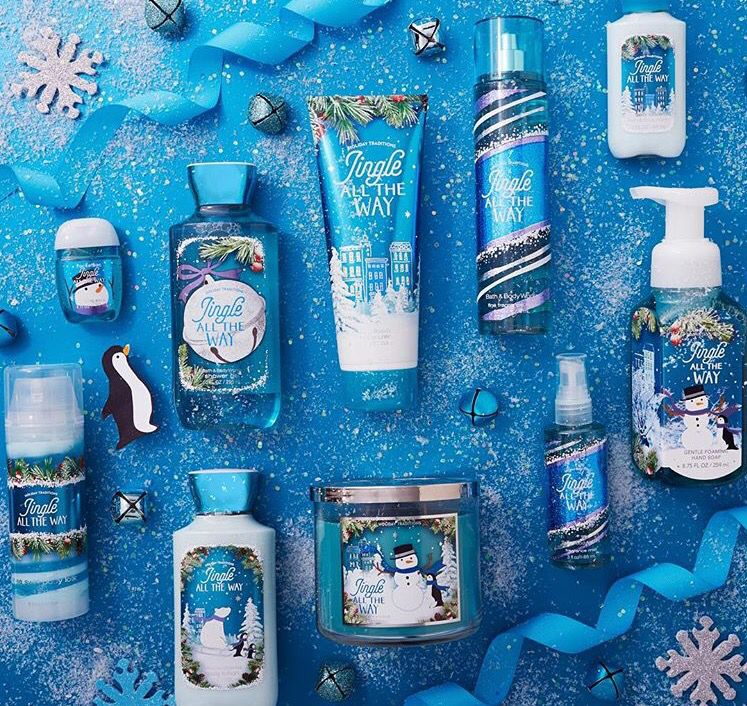 Jingle All The Way Bath And Body Works Perfume Bath N Body