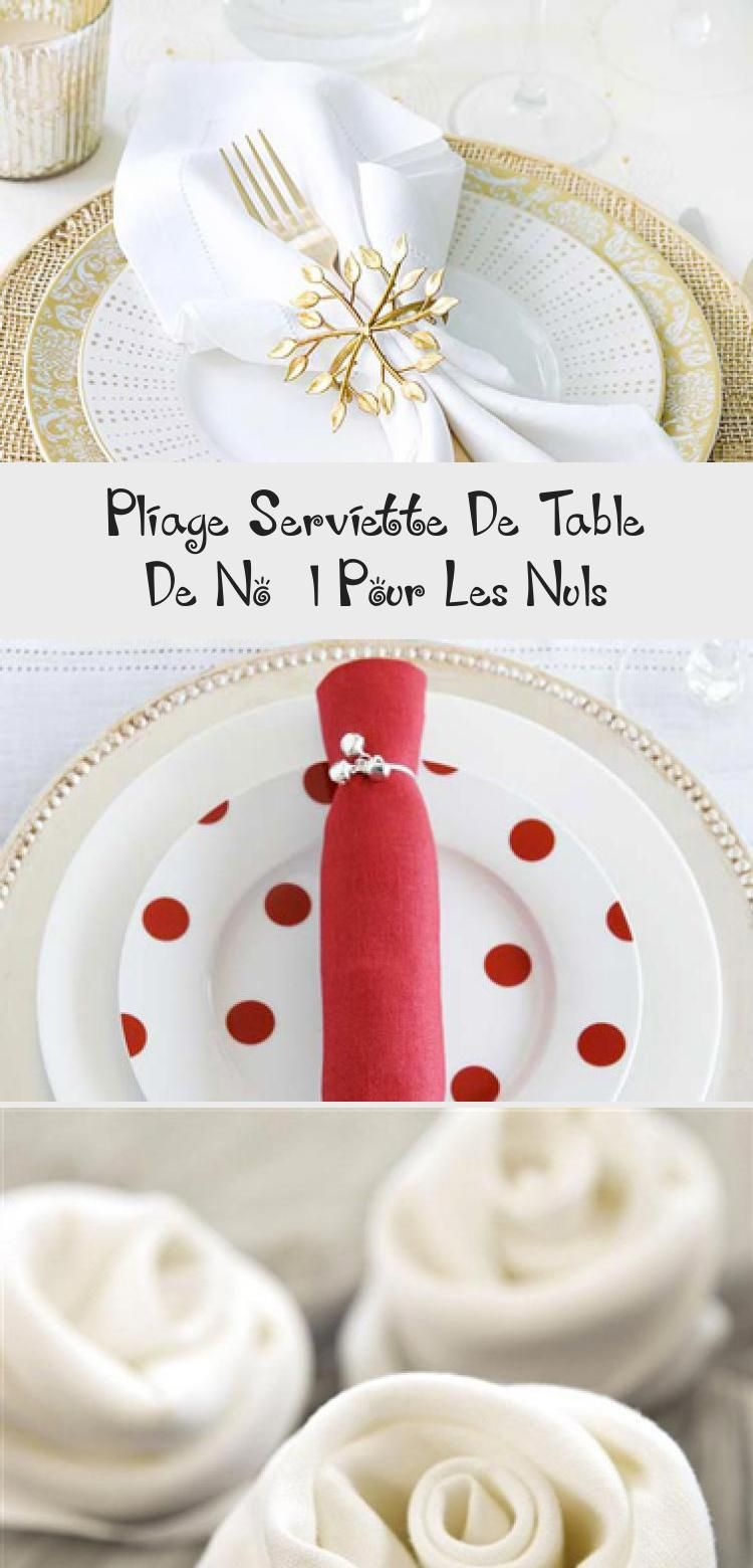 Pliage De Serviette Original pliage serviette de table de noël pour les nuls | napkins