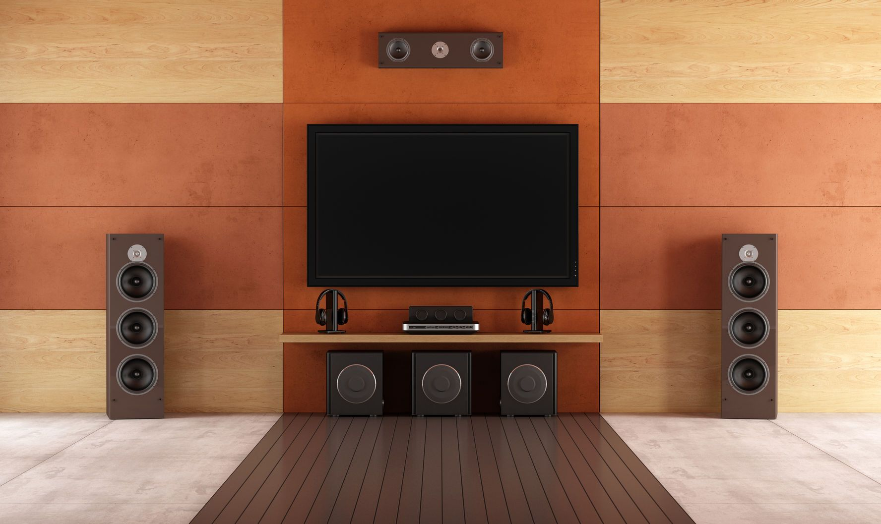 Setting Up A Simple Home Theater System Home Theater