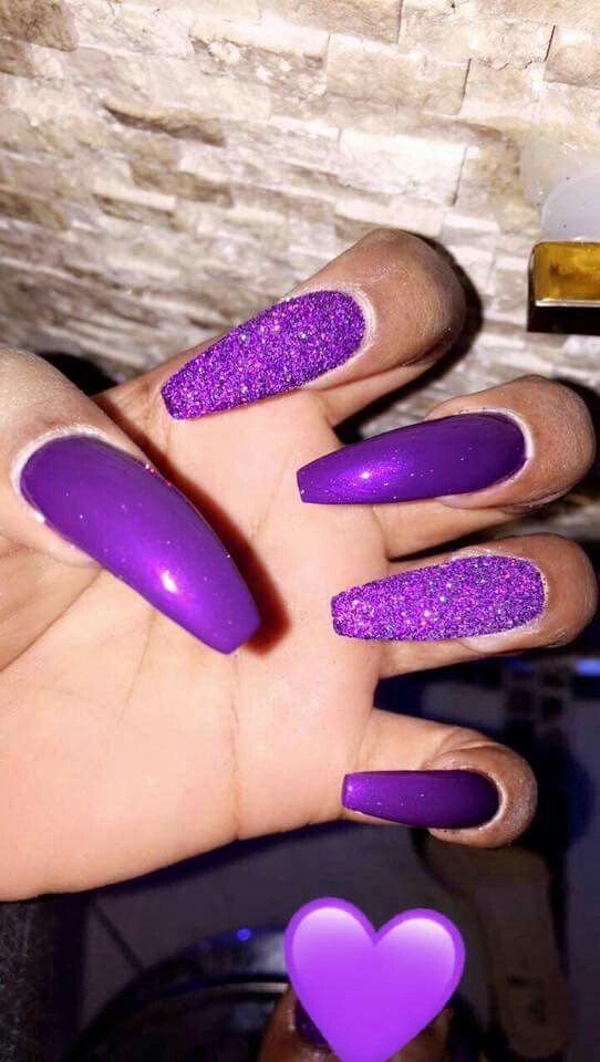 Check Out Guapshawty Nails Pretty Nails Purple Nails Y