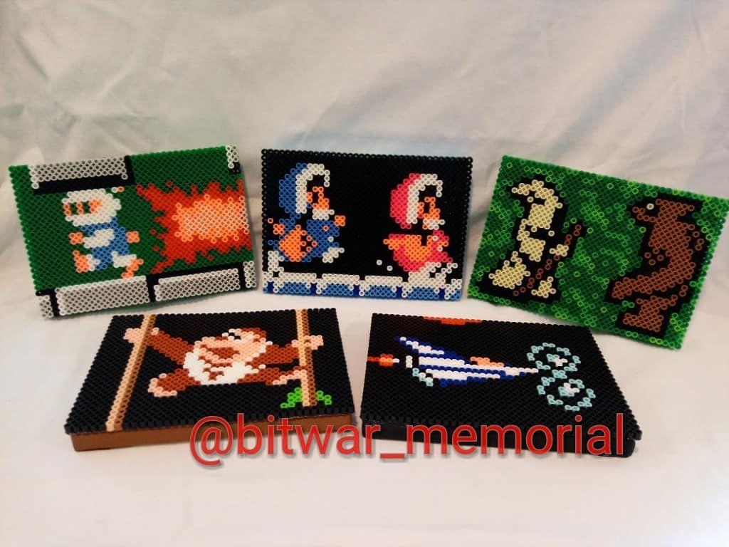 The Classic NES Bit Art series Volume 11! Featuring Ice