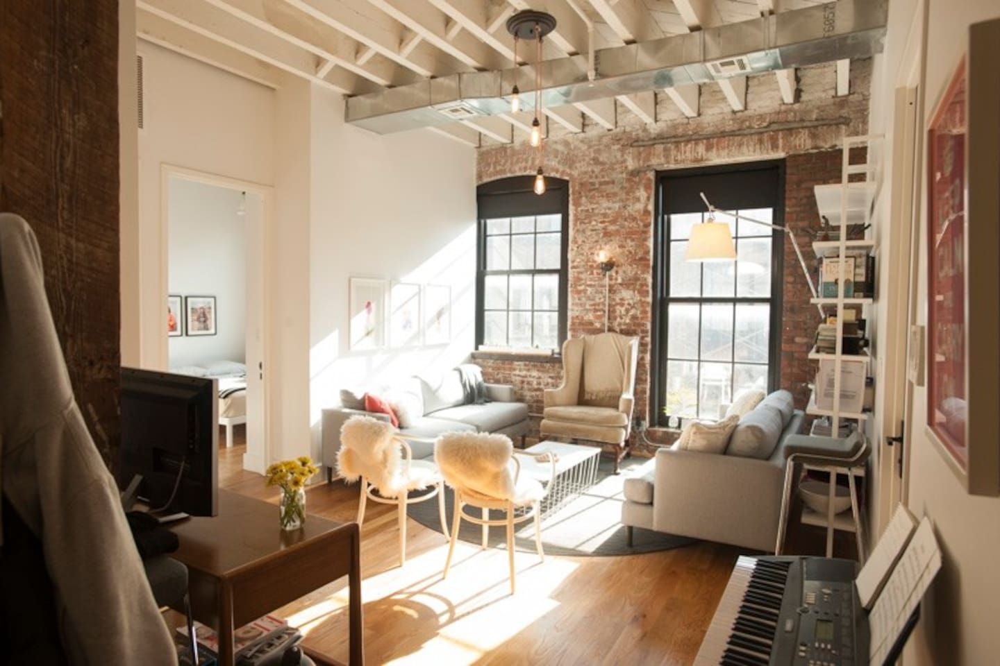 Stylish Loft Center Williamsburg Apartments For Rent In Brooklyn
