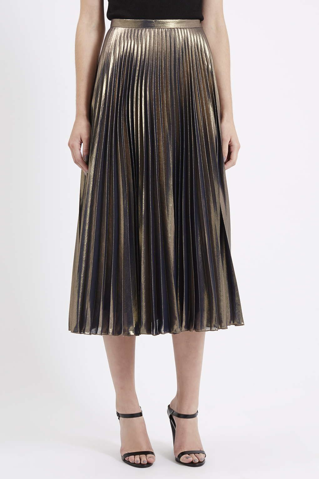 13 Metallic Pleated Skirts Less Expensive Than Gucci | Shops ...