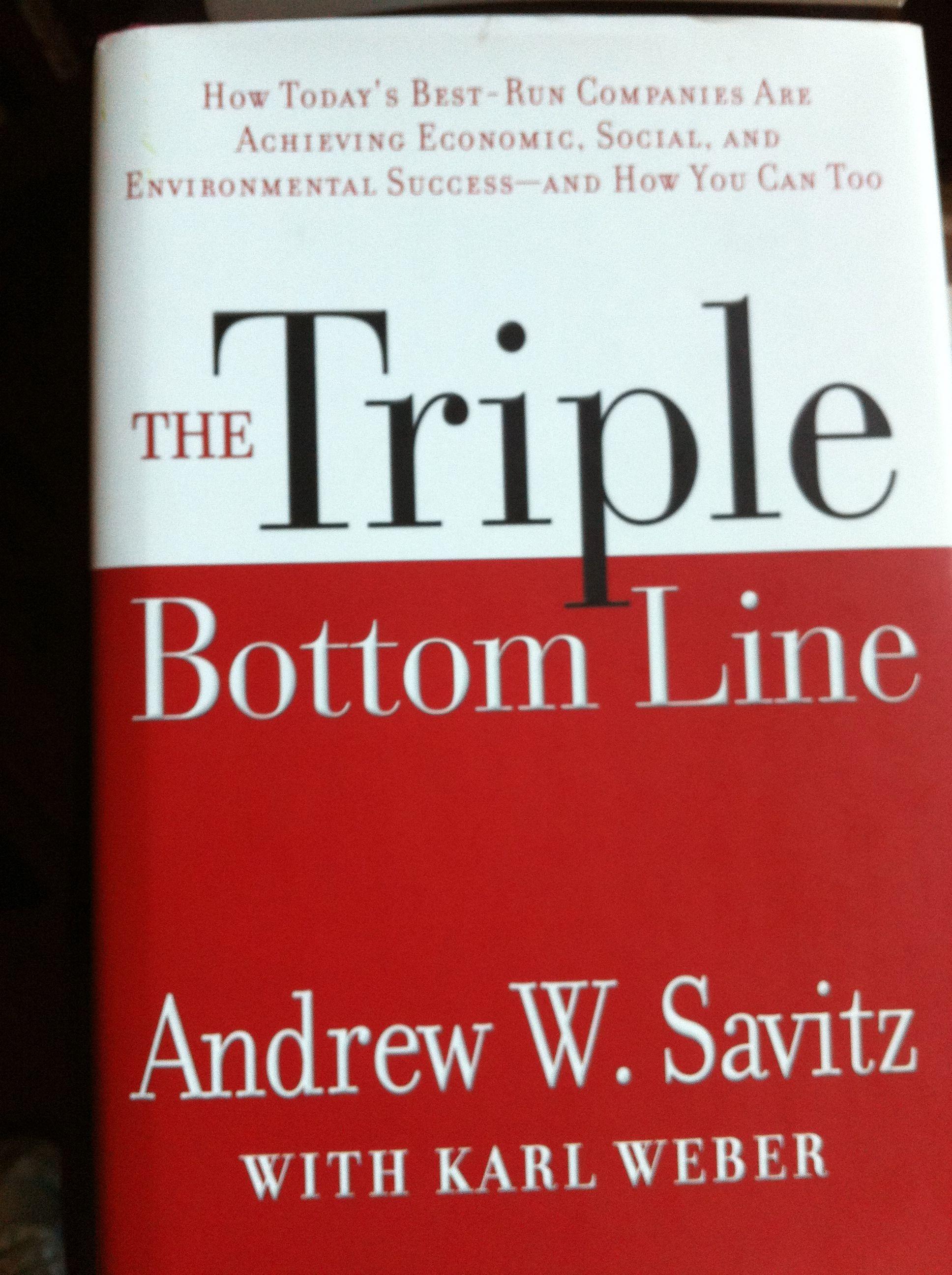 The triple bottom line must-read.