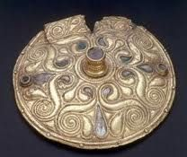 From the fifth century B.C., exquisite La Tene art was created by Celtic cultures within cosmopolitan societies around Europe, centering in what is now Trier (Germany).