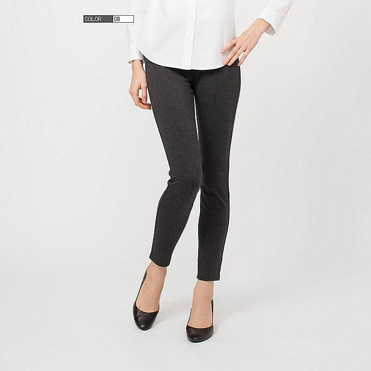 Women Ponte Leggings Pants | Uniqlo | $19.90