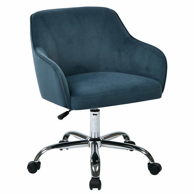 Bristol Task Chair Velvet Office Chair Office Chair Home Office Chairs