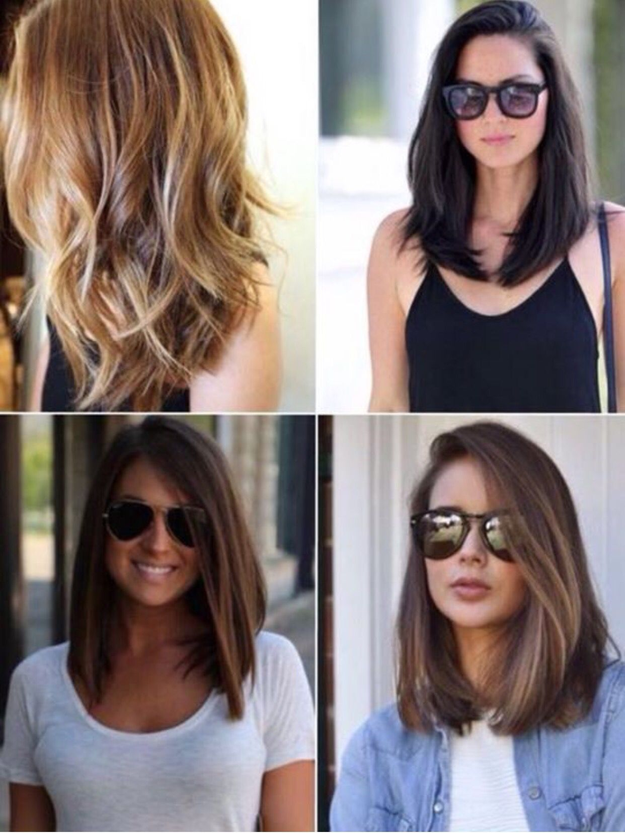 corte reto   hair ideas   medium hair styles, hair cuts, hair