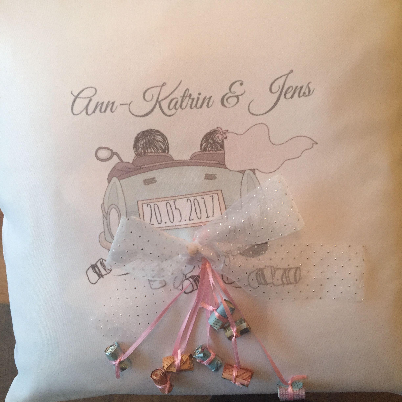 Tolle Geschenkidee zur Hochzeit   Umschläge sind einfach zu langweilig;)
