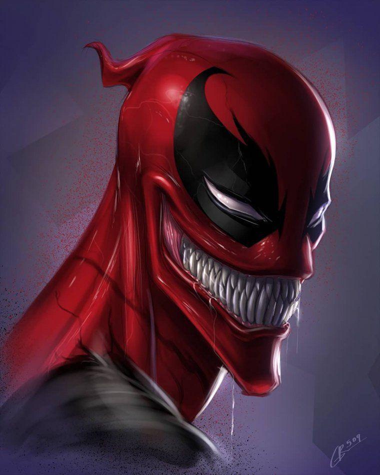 Quand Venom fusionne avec des héros connus - #avec #connus #des #fusionne #héros #quand #venom