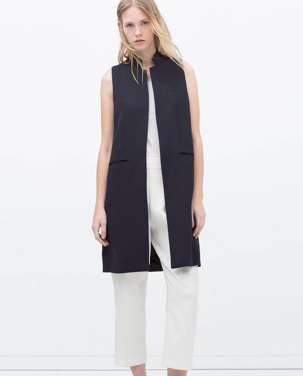 Zara abrigos, chaquetas y chalecos formales para mujer   eBay
