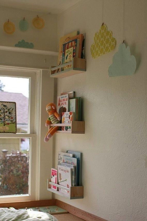Estanterías de Ikea para libros toldder room Pinterest Ikea