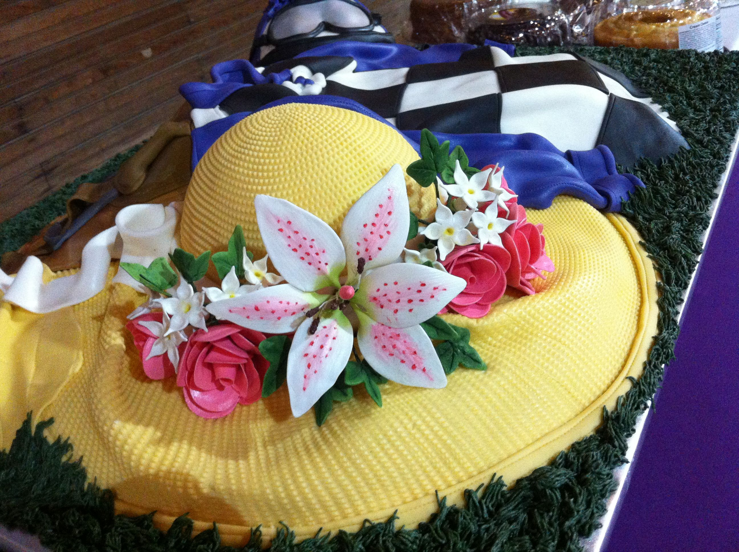 Kentucky Derby Themed Cake With Images Kentucky Derby Party
