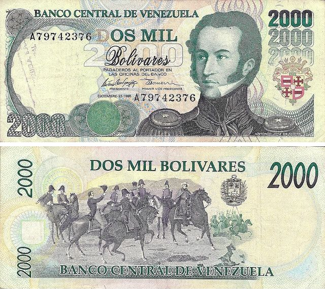 Venezuela - 2.000 Bolívares 1997