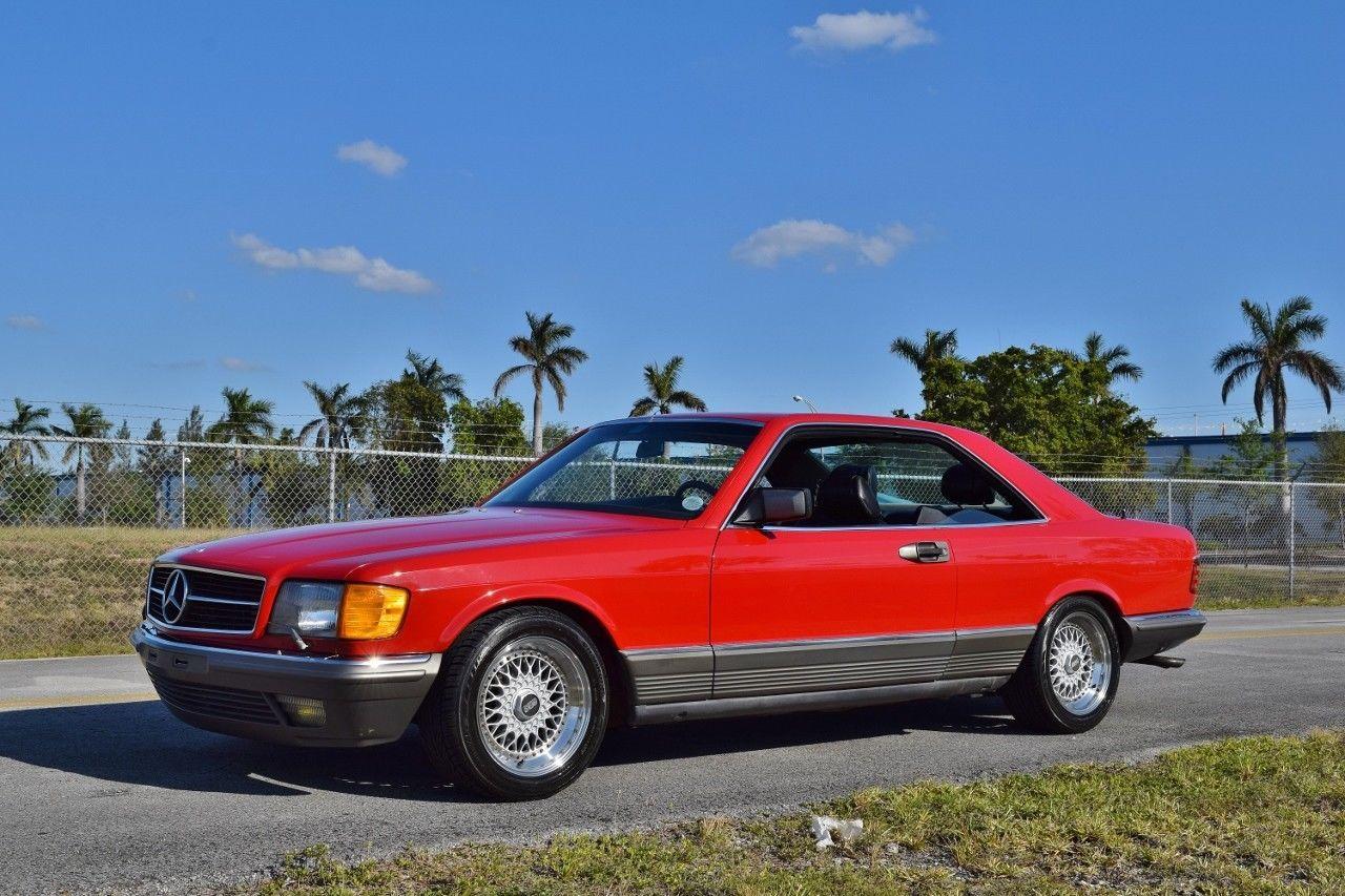 1984 mercedes benz 500 series 500 sec w126 amg mercedes benz 500