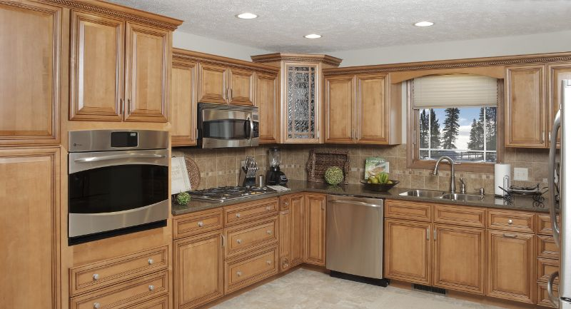 Williamsburg Glendale Kountry Wood Products Kitchen Cabinets