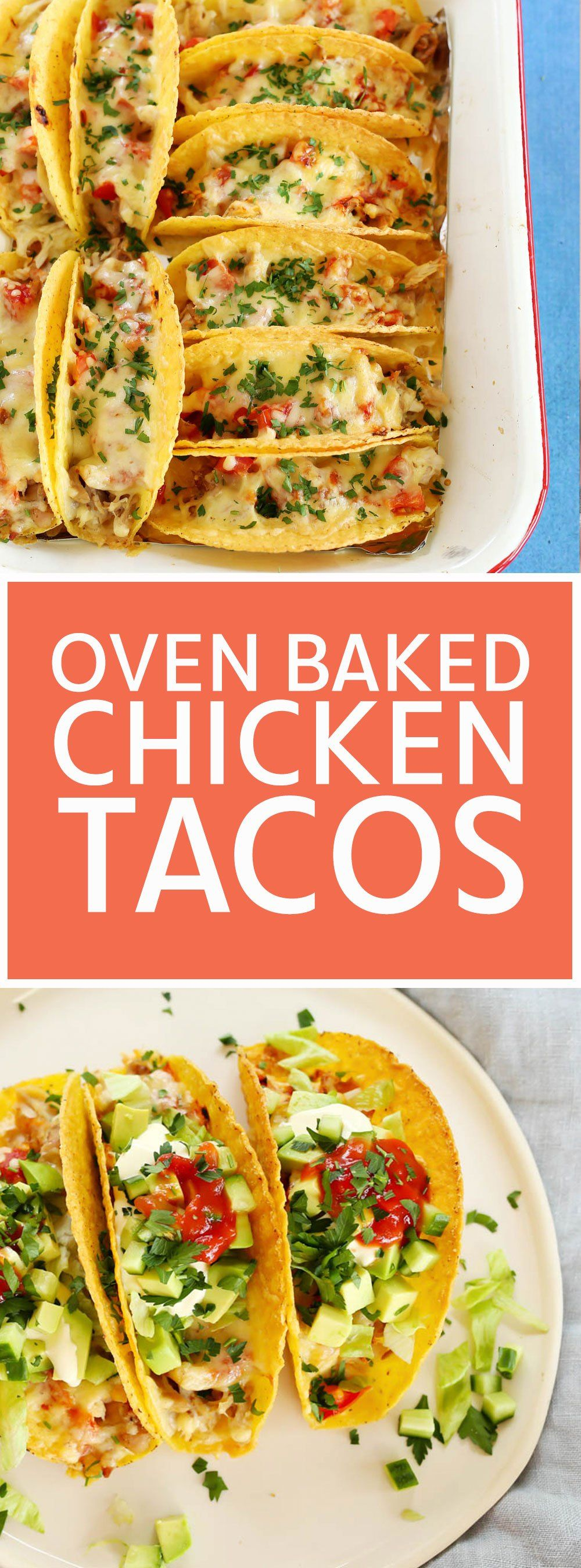 Oven Baked Chicken Tacos using leftover chicken | Kids Eat by Shanai
