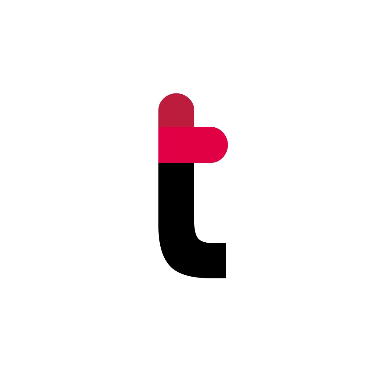 Thrivent United States Letter T Letter Logo Lettering