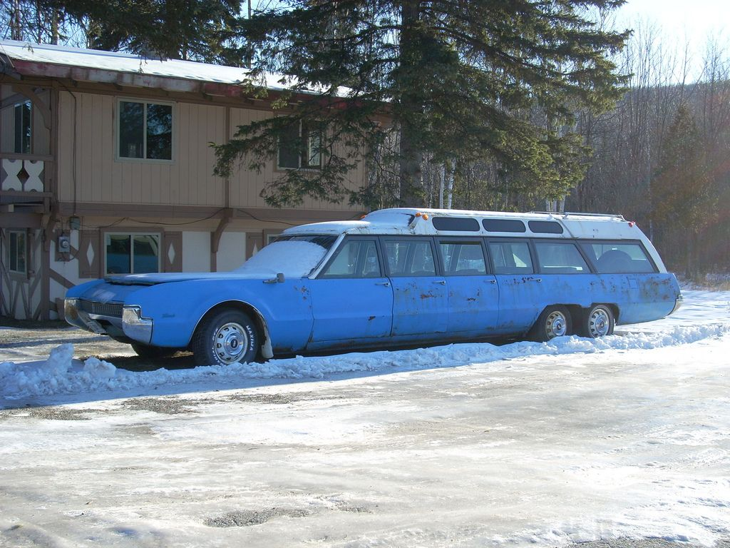 Front Wheel Drive Camper : The door wheel front drive oldsmobile toronado