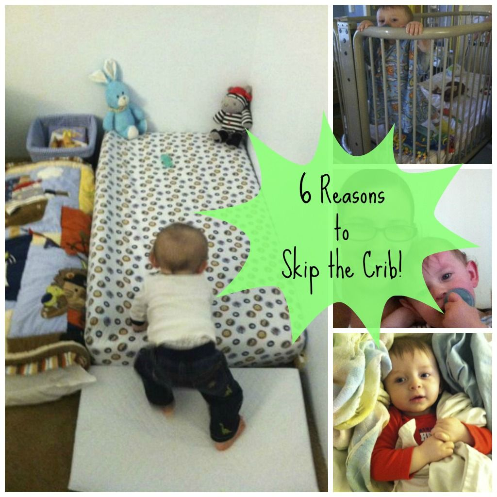 Crib alternatives for babies - Why We Skipped The Crib Floor Crib Posting To Remember Put A Pool Noodle